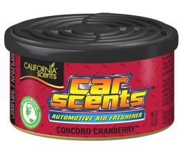 California Scents - баночный ароматизатор Concord Cranberry [клюква]