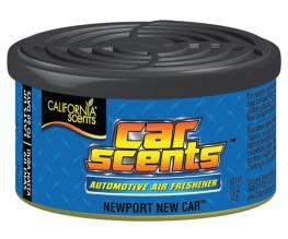California Scents - баночный ароматизатор Newport New Car [запах нового автомобиля]